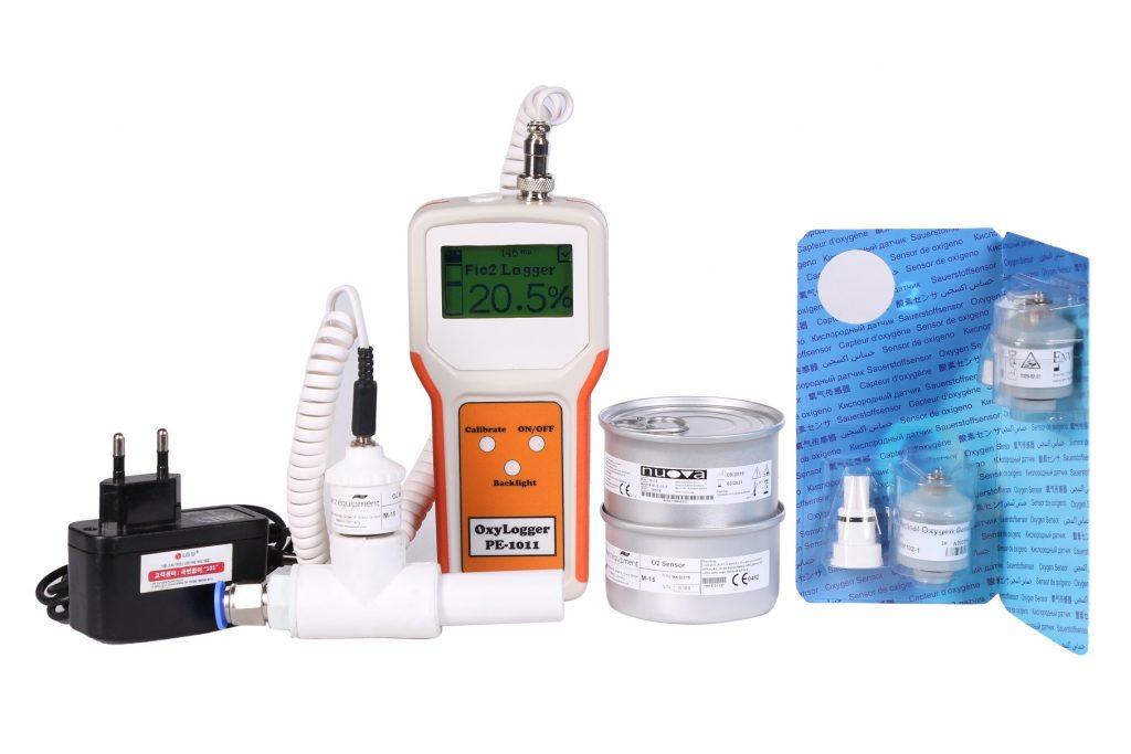 خلوص سنج اکسیژن پرتابل پویش الکترونیک ورژن 1.6 (نارنجی)