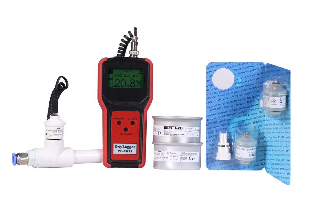 خلوص سنج اکسیژن پرتابل پویش الکترونیک ورژن 1.6 (مشکی)