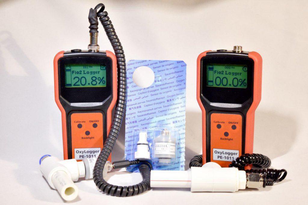 دستگاه خلوص سنج اکسیژن (اکسی لاگر) پویش الکترونیک PE-1011